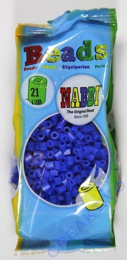 Bügelperlen dunkelblau