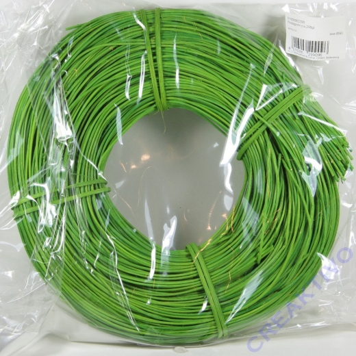 Peddigrohr 1,75mm apfelgrün