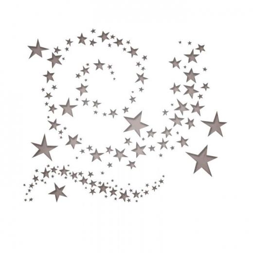 Sizzix Thinlits Die Set 9PK - Swirling Stars