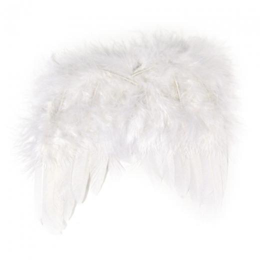Engelflügel aus Federn 15cm