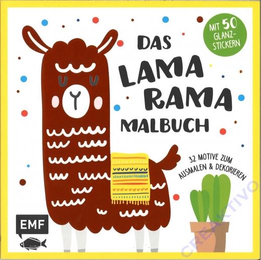 Das Lama Rama Malbuch