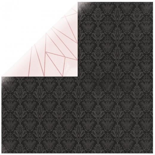 Scrapbooking Papier Sparkle - Auroral (Restbestand)