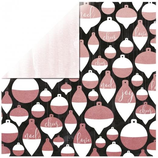 Scrapbooking Papier Sparkle - Aglow (Restbestand)