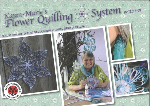 Karen Maries Flower Quilling System Instruction (Restbestand)