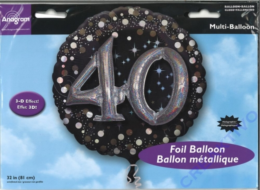 Folienballon 40 81cm
