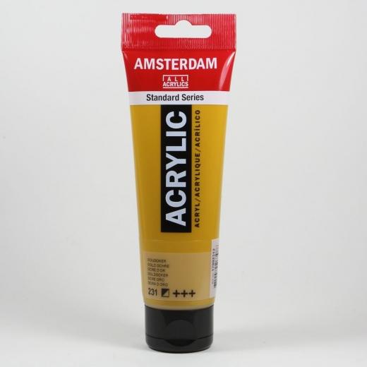 Amsterdam Acrylic Standard Series 120ml - goldocker