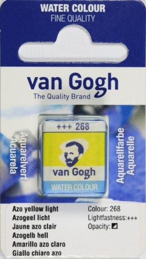Van Gogh Aquarell Näpfchen azogelb hell