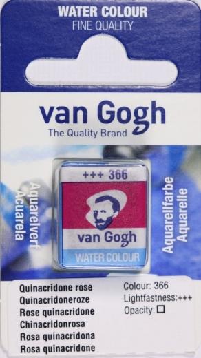 Van Gogh Aquarell Näpfchen chinacridonrosa