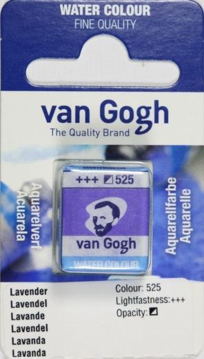 Van Gogh Aquarell Näpfchen lavendel