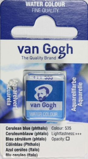 Van Gogh Aquarell Näpfchen coelinblau phthalo
