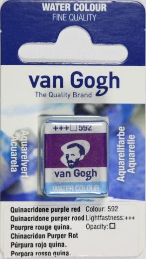 Van Gogh Aquarell Näpfchen chinacridon purpurrot
