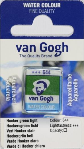 Van Gogh Aquarell Näpfchen hookergrün hell
