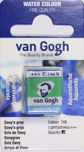 Van Gogh Aquarell Näpfchen davygrau