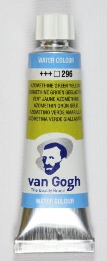 van Gogh Flüssige Aquarellfarbe azomethin grün gelb