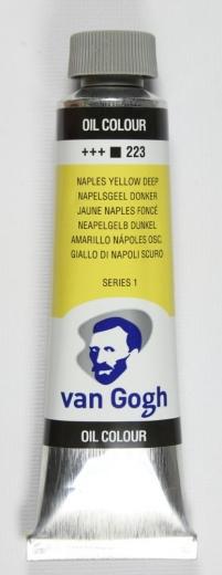 Van Gogh Ölfarbe 40ml neapelgelb dunkel