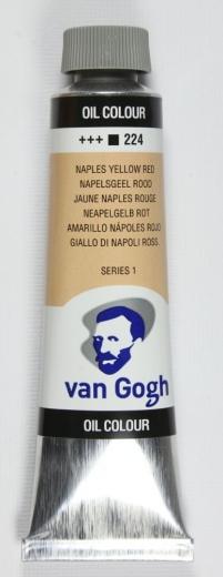Van Gogh Ölfarbe 40ml neapelgelb rot