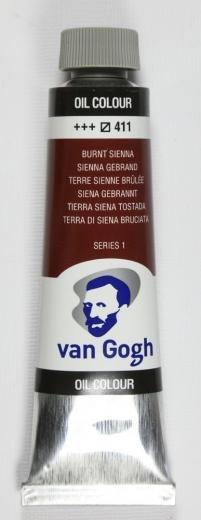 Van Gogh Ölfarbe 40ml siena gebrannt