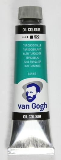 Van Gogh Ölfarbe 40ml türkisblau