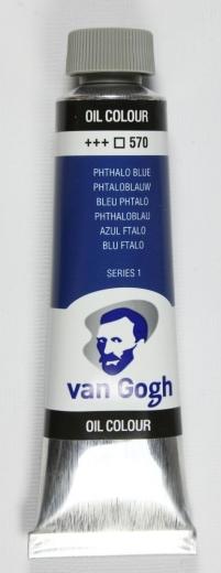 Van Gogh Ölfarbe 40ml phthaloblau