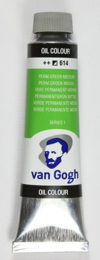 Van Gogh Ölfarbe 40ml permanentgrün mittel