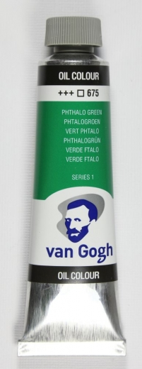 Van Gogh Ölfarbe 40ml phthalogrün