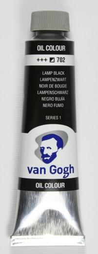 Van Gogh Ölfarbe 40ml lampenschwarz