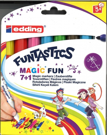 Edding Funtastics Magic Fun 7+1 Magic markers