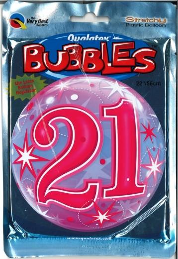 Bubbleballon 21 pink