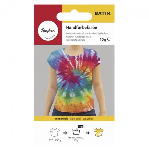 Rayher Batik Handfärbefarbe sonnengelb
