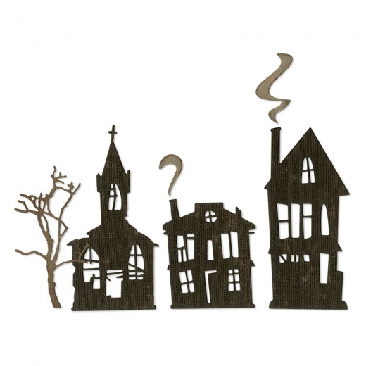 Sizzix Thinlits Die Set 5PK - Ghost Town