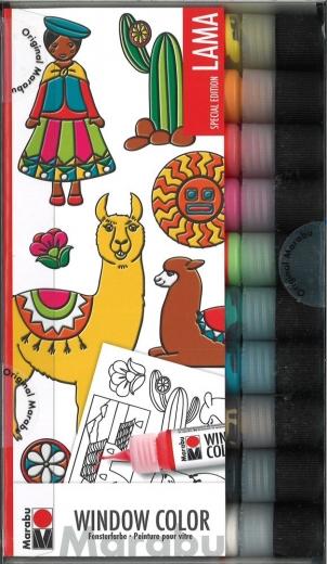 Marabu Window Color Set Lama