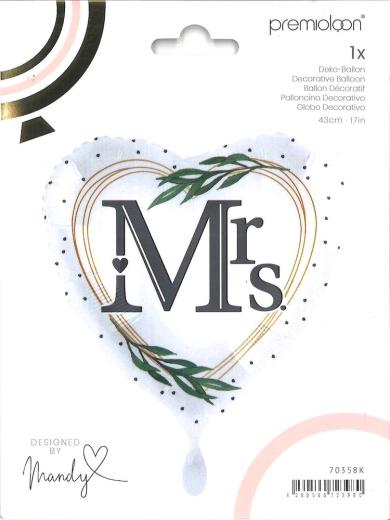 Folienballon Mrs. Traumfrau