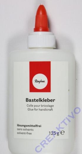 Rayher Bastelkleber weiß 125g