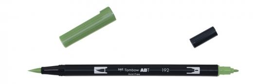 Tombow ABT Dual Brush Pen - aspargus
