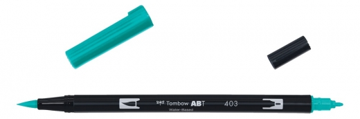 Tombow ABT Dual Brush Pen - bright blue
