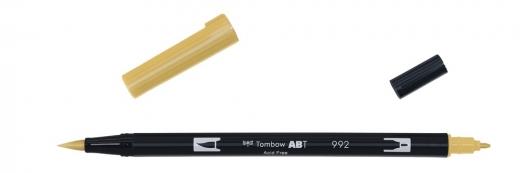 Tombow ABT Dual Brush Pen - sand