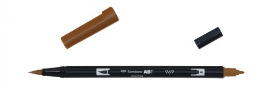 Tombow ABT Dual Brush Pen - chocolate