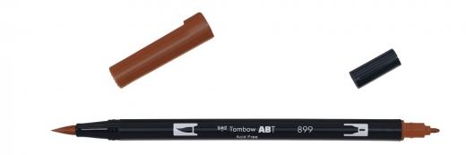 Tombow ABT Dual Brush Pen - redwood