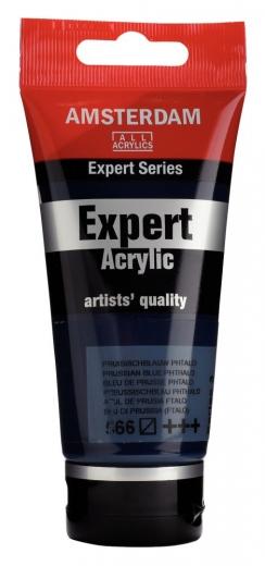Amsterdam Expert Acrylic 75ml preussisch blau (phthalo)