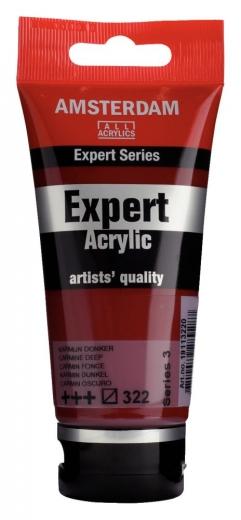 Amsterdam Expert Acrylic 75ml karmin dunkel