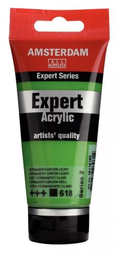 Amsterdam Expert Acrylic 75ml permanentgrün hell