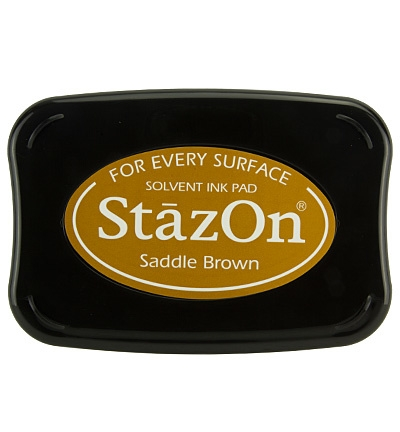 StazOn Stempelkissen Saddle Brown