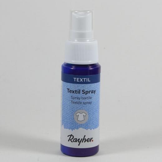 Rayher Textil Spray ultrablau