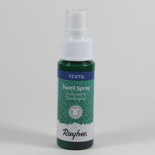 Rayher Textil Spray piniengrün