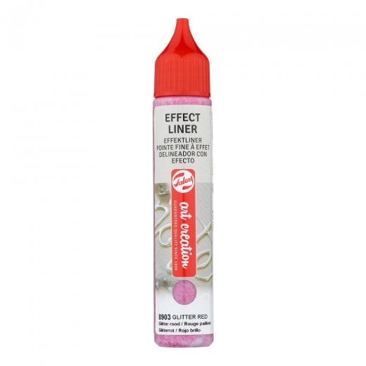 Talens art creation Effect liner - Glitter red