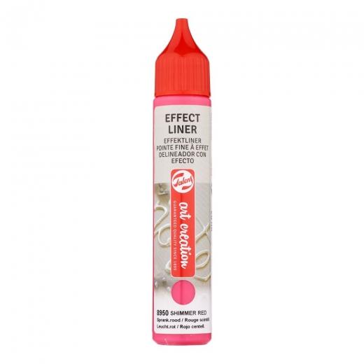 Talens art creation Effect liner - Shimmer red