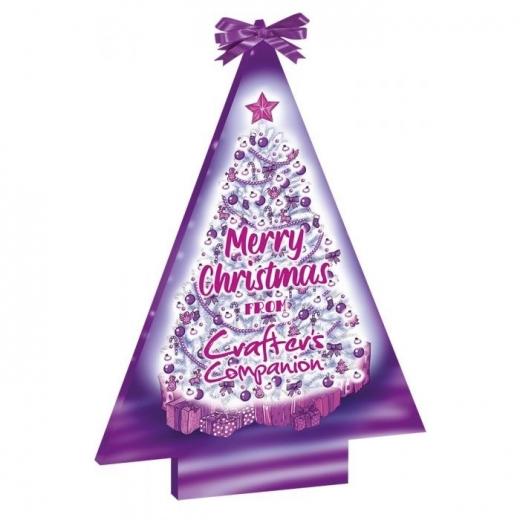 Crafters Companion Weihnachts-Adventskalender mit Stanzwerkzeugen und Stempeln