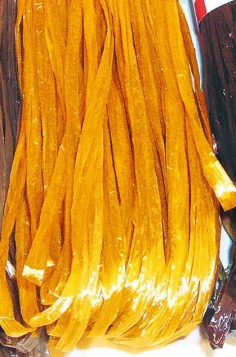 Rayonbast glänzend 20m gold