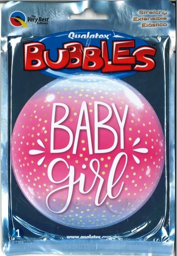 Bubbleballon Baby Girl Confetti Dots