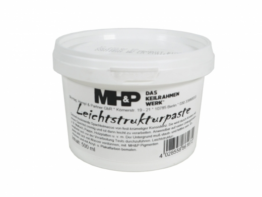 LEICHTSTRUKTURPASTE, 500 ML